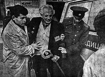 Армяне покидают Баку, 1999г.