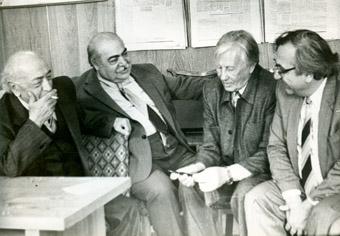 """В редакции газеты """"Коммунист"""", 1988г."""