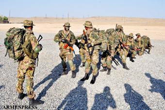Армия сильна, когда она стоит на своей земле и ее защищает.