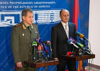 С.Шойгу и С.Оганян