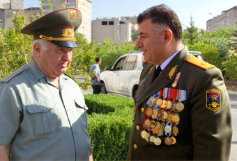 Генерал-майор Артур СИМОНЯН, командир миротворческой бригады МО РА