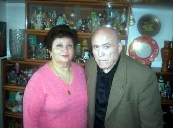 Владимир Енгибарян с супругой.