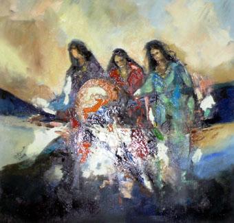 В Национальной картинной галерее Армении открылась выставка арабского искусства