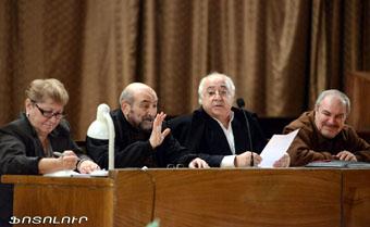 XI съезде Союза кинематографистов Армении