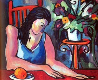 Картина с выставки