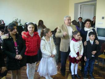Шефский концерт в Доме-интернате для престарелых Норк-Мараша
