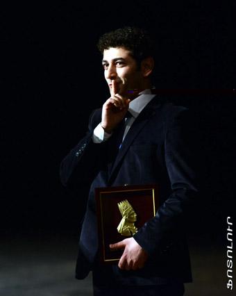 На церемонии награждения