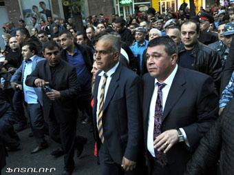 Ереван, марш несогласных