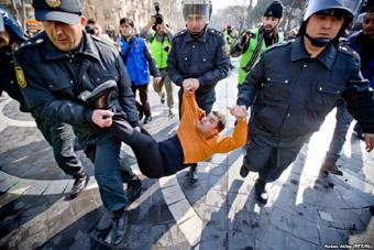 Баку задержание