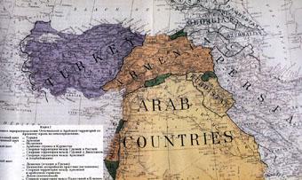 Карта с границами
