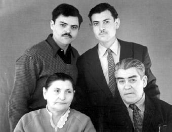 Семья Э.А.Старостова