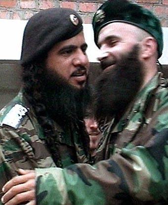 Хаттаб и Шамиль Басаев