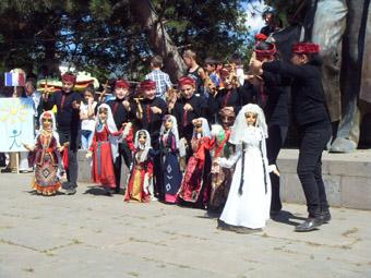 Праздничный Дсех в дни фестиваля.