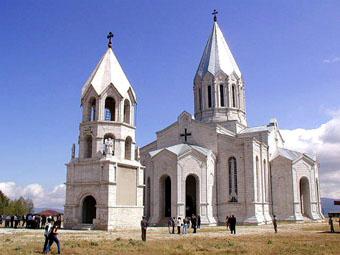 Церковь Аменапркич в Шуши.