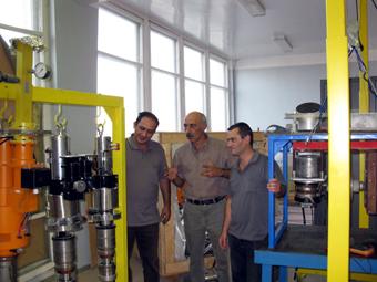 В Институте синхротронных исследований полным ходом идут работы по реализации первой фазы проекта CANDLE - линейного ускорителя AREAL.