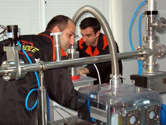 Недавно к этим экспериментам подключились и немецкие коллеги из DESY.