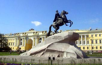 Медный всадник - памятник Петру Первому