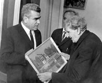 Арам Арамян и Мартирос Сарьян