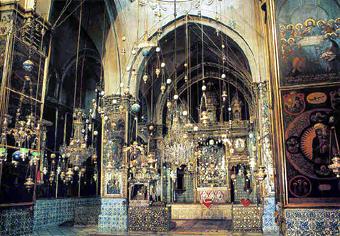 Уже к VII в. у армян на Святой земле было до 70 монастырей и церквей.