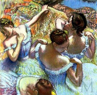 Картины Э. Дега можно увидеть в самых разных музеях Европы и Северной Америки.