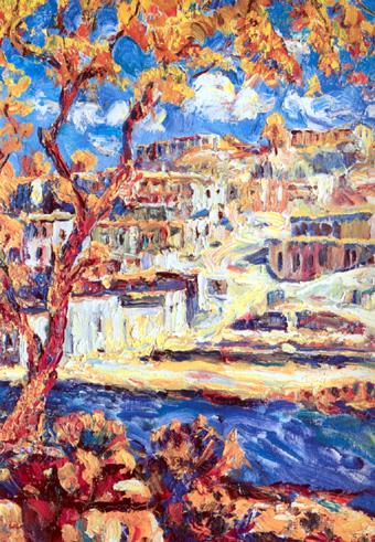 Художник находится в бесконечном движении и постоянном развитии, как того требует жизнь.