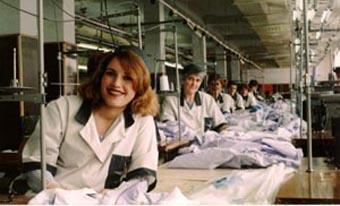 Кироваканское швейное объединение им. С.Шаумяна имело филиалы в нескольких городах Армении