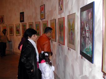 У нас много детских художественных школ, но центр Самвела особенный.