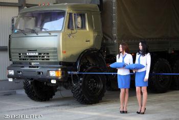 "Торгово-сервисный центр ""КамАЗ"" в Ереване."