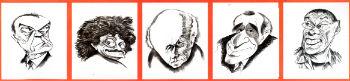 """Состоялась презентация альбома """"Графика и скульптура"""" архитектора Арутюна Чаликяна, лауреата многих международных конкурсов карикатуристов и юмористических шаржей."""