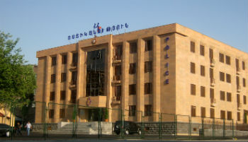 Новое здание полиции, построенное по проекту Карлена Мартиросяна.