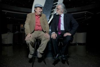 Ерзнкян и композитор и второй дирижер Мартин Вартазарян.