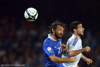 Матч Италия - Армения.