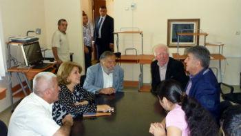 Недавно Дом культуры посетили первая леди Армении Рита Саргсян и председатель Союза армян России Ара Абрамян.