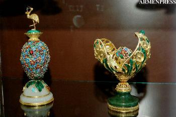 В Ереване начала работу 3-я (и 3-дневная) Международная ювелирная выставка Yerevan Show.
