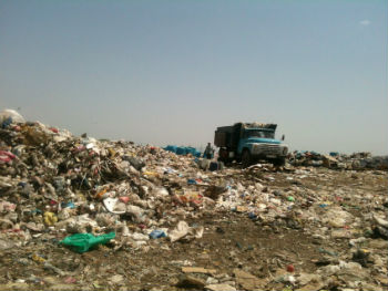 Ереване до сих пор не решен вопрос уборки и утилизации мусора.