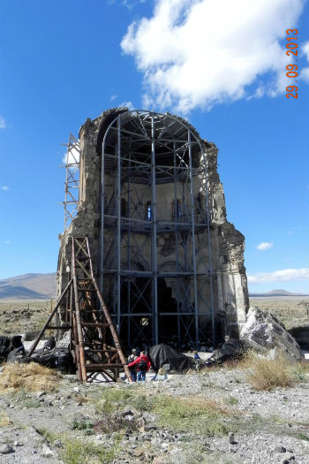 Реставрация церкви Аменапркич.