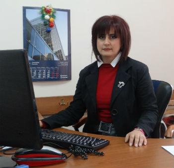 Кандидат архитектуры Нунэ Петросян.