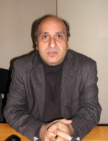 Президент Национальной ассоциации арт-критиков Армении Рубен Аревшатян.