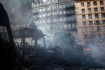 События в Украине.