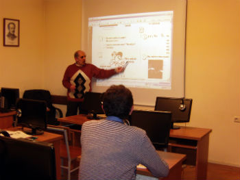 В беседе и преподаватели, и студенты выразили большое желание продолжить обучение.