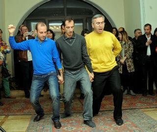 Армянский национальный и этнографический танец представил Гагик Гиносян.