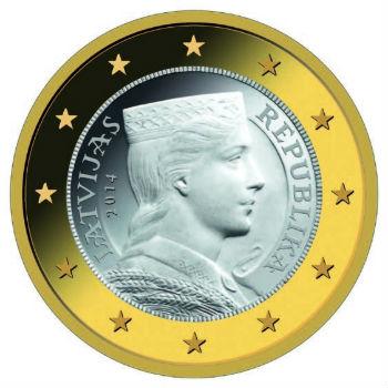 С 1 января Латвия стала 18-й страной, вступившей в еврозону.