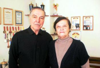 Альберт Азарян с супругой Елизаветой.