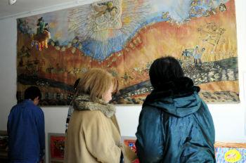 Уже четвертый год ученики художницы Гоар Мирзоян участвуют в выставке, посвященной Дню Св.Саркиса