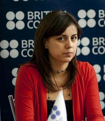 Директор армянского подразделения Британского консульства Аревик Сарибекян