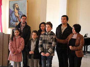 """В рамках фестиваля """"Моя Армения"""" проводится День декламации, на котором чтецы демонстрируют свое умение художественно представлять поэзию и прозу на армянском языке."""