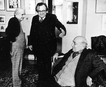 Левон Мкртчян с Амо Сагияном и Ваагном Давтяном