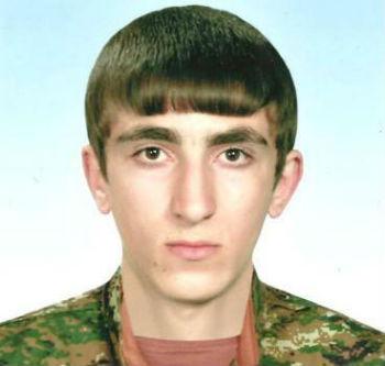 Погибший солдат Саргис Саакян