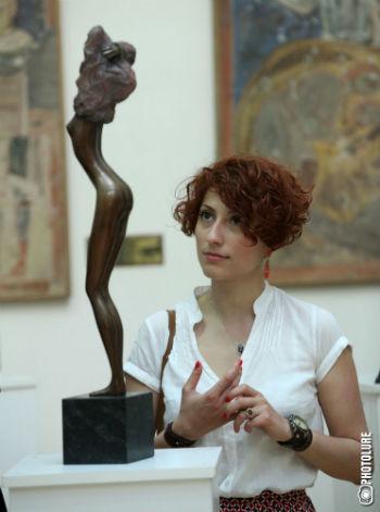 На выставке работ Бруно Бруни