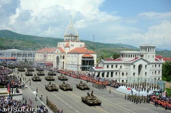"""В этот день, точнее, в ночь на 8 мая 1992 г., еще точнее, в 2 часа 30 мин. Самвел Бабаян, укрепившись на высоте Лисагорского локатора (отметка 2214,8), доложил по связи Аркадию Тер-Тадевосяну (Командосу): """"44-й на связи: мы взяли под контроль высоту и магистраль. Можно начинать наступление"""". 9 мая армянские подразделения вошли в Шуши."""
